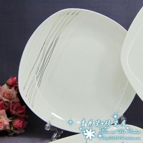 Buy Jingdezhen Silk Road 56 head bone china tableware bowl shaped ceramic tableware cheap