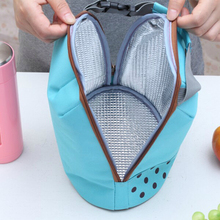 Outdoor Picnic Protable Ice Bags Oxford Hand Carry Thickened Cooler Bags 4 Colors Lunch Bag Food