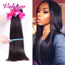 Rosa Hair Products Malaysian Virgin Hair Straight 4Bundles Deal Malaysian Straight Hair 7A Malaysian Virgin Human Hair Extension(China (Mainland))