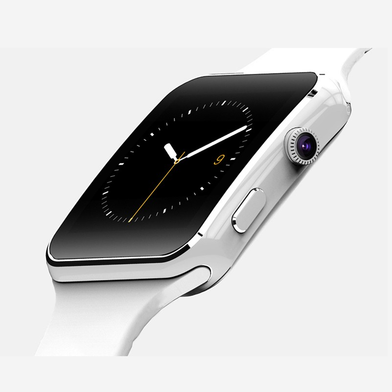 2016 New Smart Watch X6 sport watch For Apple iPhone Android Phone With Camera Support SIM Card like apple watch smartwatch k8
