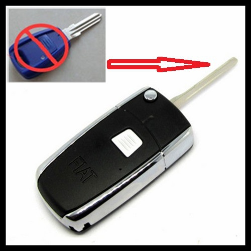 5pcs/lot for 1button Blank modified flip folding remote key shell for Fiat Palio Weekend S372(China (Mainland))