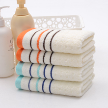 2016 Hand towel --4pcs/set 34*75cm Bamboo Towel Plain Dyed Toalhas Face towels Solid face care breathable New Brand Towels - Jinge Fashion Top Fur Coats and Tapestries Shop store