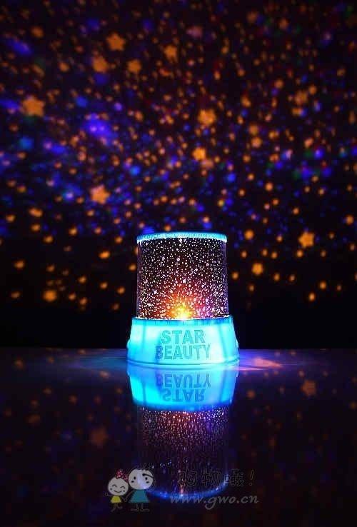 New Beauty Twilight Night Light Stars Lamp Baby Care(China (Mainland))