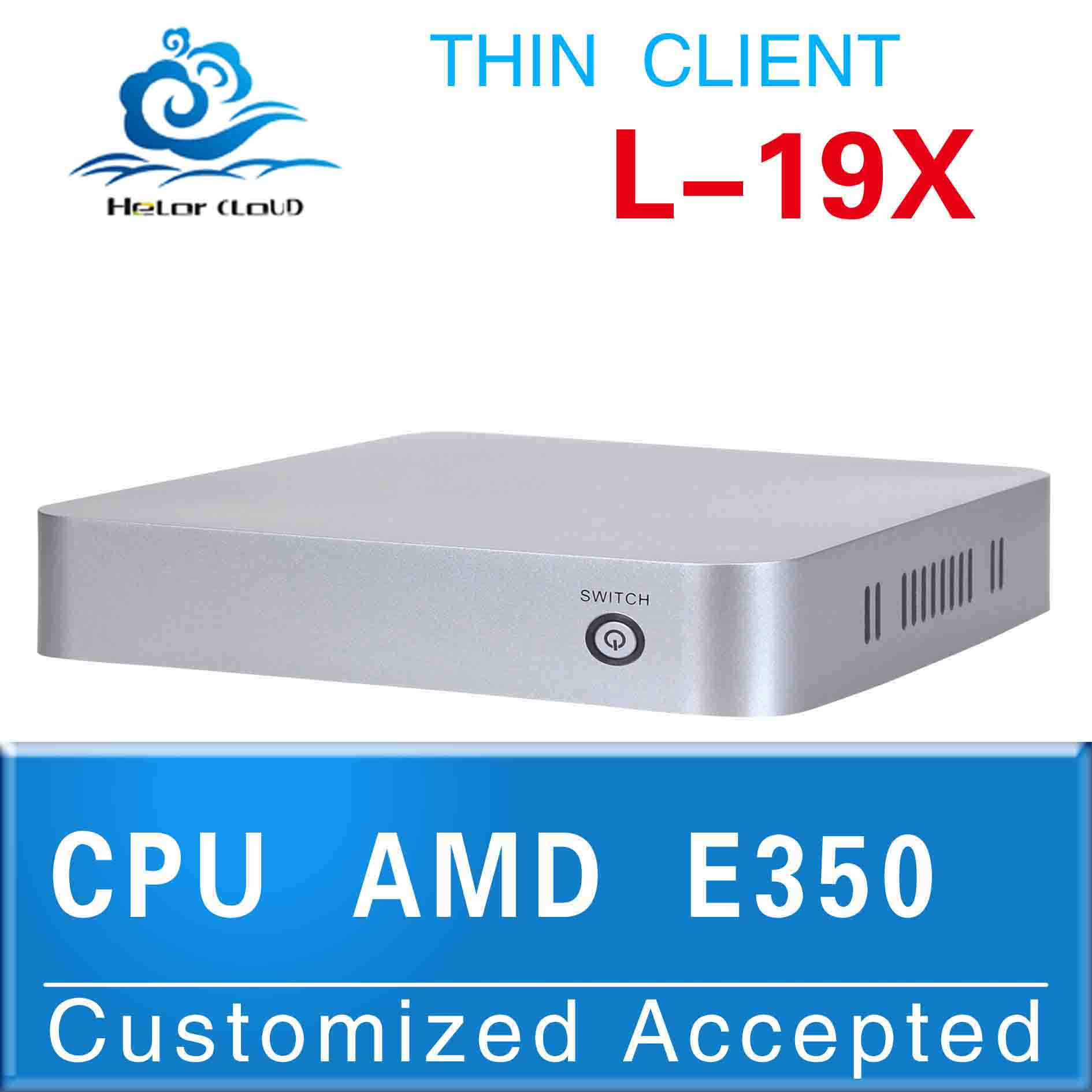 Cheap!! mini linux computers AMD E350 Dual core 1.6GHZ support MIC touch screen full screen movies low price and best quality(China (Mainland))