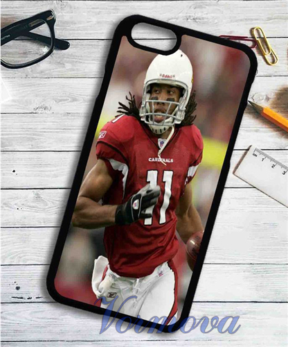 Larry Fitzgerald Arizona Cardinals cover case for samsung galaxy S3 S4 S5 S6 S6 edge S7 S7 edge Note 3 Note 4 Note 5 #kz897(China (Mainland))