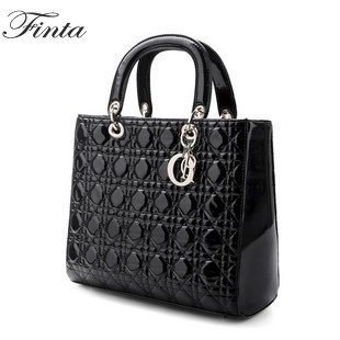 Glamour Designer Inspired high-quality genuine leather DaiFei handbag womens tote shoulder bag