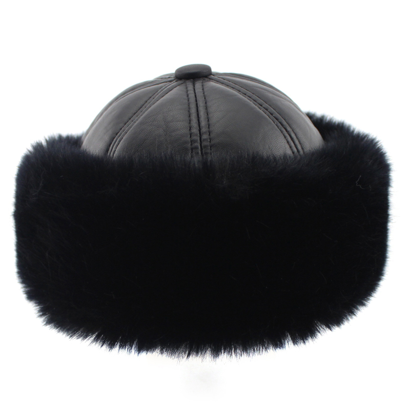2016 New Arrival Men's Warm Hats, Classic Mongolian Hat, Fashion Lei Feng Hat, Warm Winter Bomber Hat For Men Free Shipping