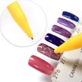 Strass Diamante Acrílico Lidar Com Escova Salão De Beleza Do Prego UV Gel Manicure Moda Nail Art Pen Escovas de Unhas M01844