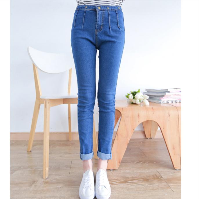 [DK Jeans] Fall Pants Korean Version Of Stereo-Fas...