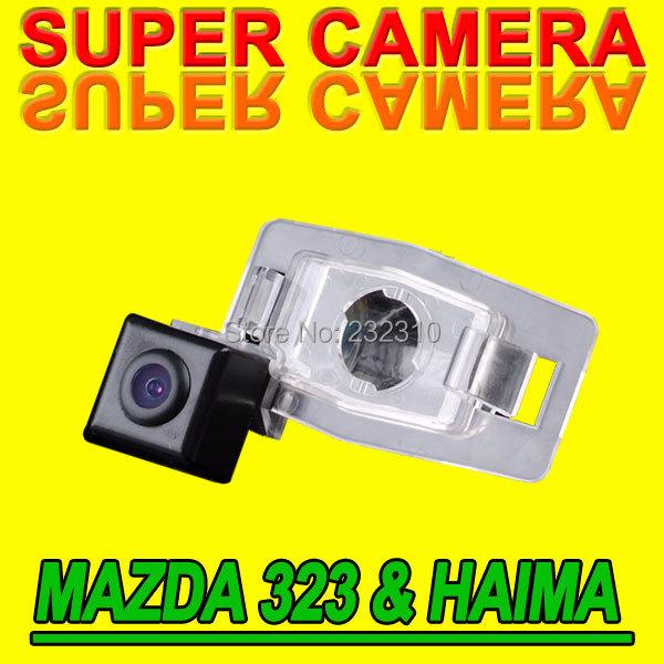 10x Hot car rear view back up parking car camera for Mazda 323 Haima happin Premacy waterproof high-solution NTSC PAL( Optional)(China (Mainland))