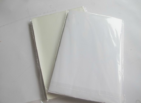 50 sheets good printing quality waterproof self adhesive A4 blank white vinyl sticker label paper for laser printer(China (Mainland))