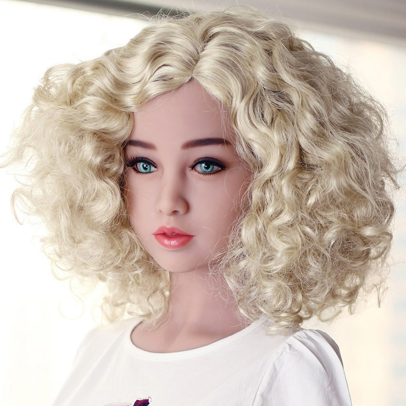 NEW Top quality japanese sex doll head for real silicone doll, oral sexy heads, sex products