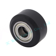Openbuilds Plastic wheel with ball Bearings Passive Round wheel Idler Pulley Gear perlin wheel For 3D