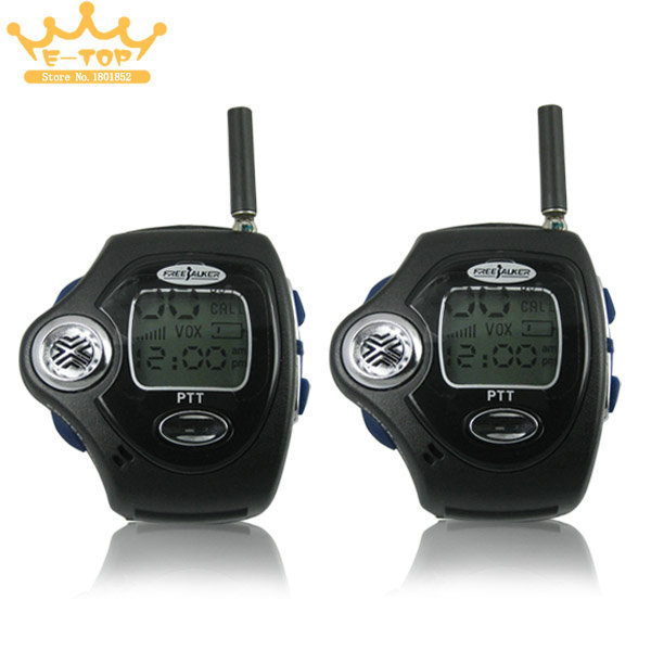 Watch Walkie Talkie With VOX Operation free shipping(China (Mainland))