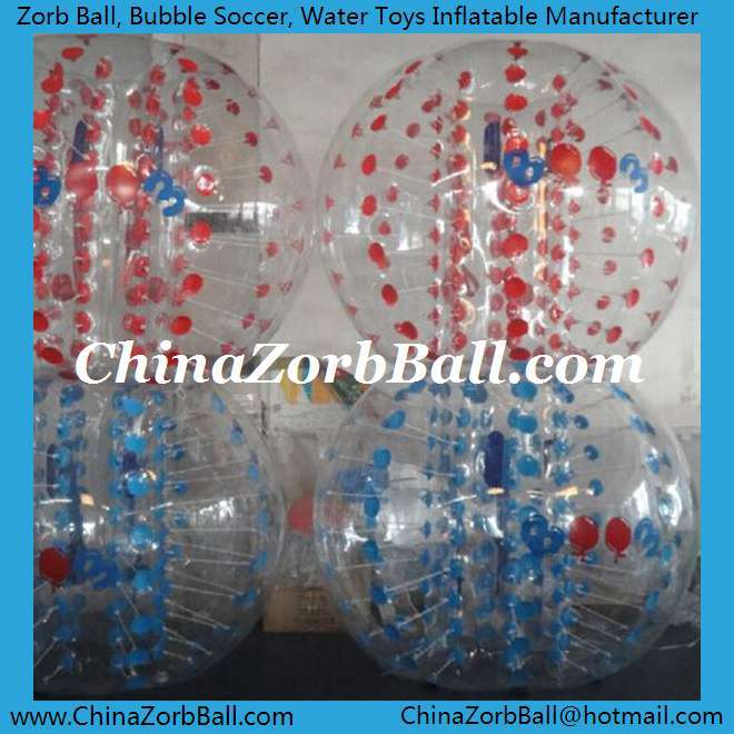 Free shipping inflatable human size hamster ball soccer bubble 1.5m of diameter(China (Mainland))