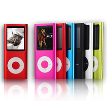 High Quality 16GB MP4 Player 1.8 inch LCD Screen Voice Recorder FM Radio Video Music Player 9 Colors to Choose