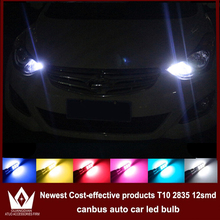 Guang Dian 4x LED CANBUS For solaris accent i30 elantra ix35 i20 santa fe sonata t10 w5w 2835 Clearance Lights Width lamp(China (Mainland))