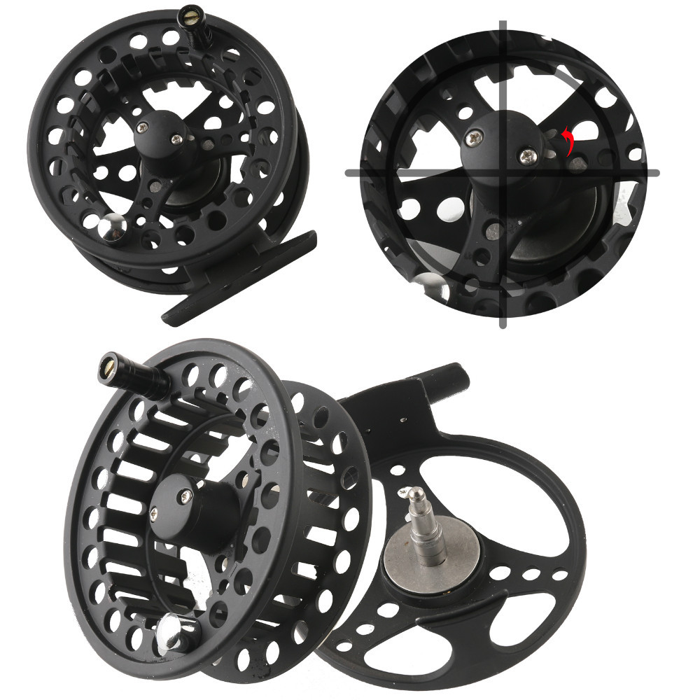 Alc 85mm wholesale fishing reels made in china aluminum for Wholesale fishing reels