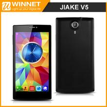 Original JIAKE V5 MTK6572 Dual Core Mobile Phone 5.5 Inch Android 4.2 QHD Screen 2MP Camera 4GB ROM Dual Sim Smartphone GPS/3G