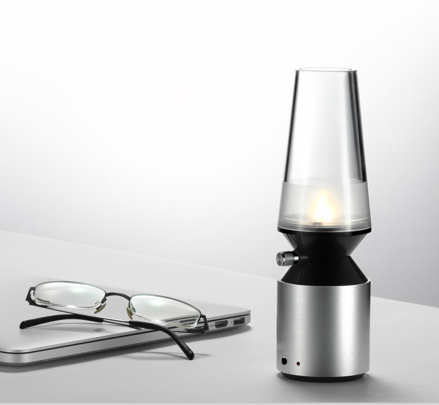 2xblowing control  Kerosene lamps shape led night light multi color<br><br>Aliexpress