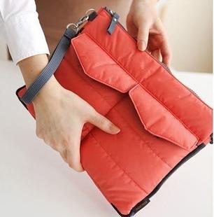 4 Colors iPad Bag Inner Bag Organizer Hangbag Insert ipad purse Organizer Bag cosmetic train case(China (Mainland))