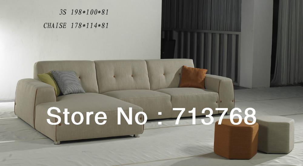 Free shiping Modern furniture / living room sectional / corner fabric sofa MCN441(China (Mainland))