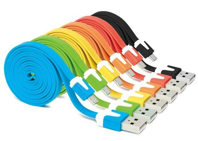 Micro Usb Kabel Flach 3m Micro-usb-kabel Flachen