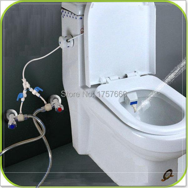 Гаджет  without electricity cold and hot water bidet set potty toilet micro soft water sprayer kitchen mixer tap None Строительство и Недвижимость