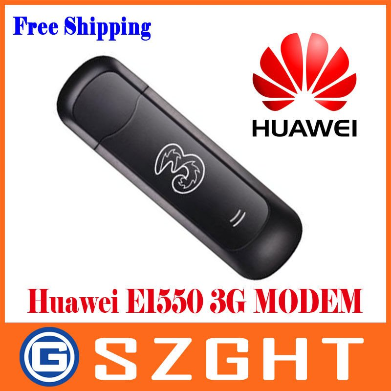 Huawei E1550 3G/2G Modem,HSDPA/WCDMA/EDGE/GPRS/GSM,for your laptop/notebook Free Shipping(China (Mainland))