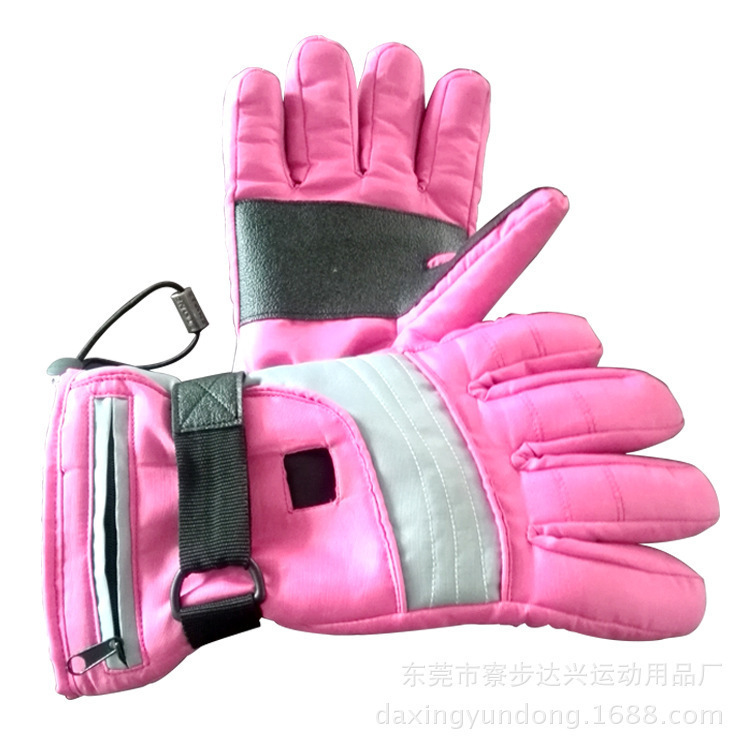 Spring warm waterproof ski gloves for men and women cold outdoor electric Juji line hot new sports gloves(China (Mainland))