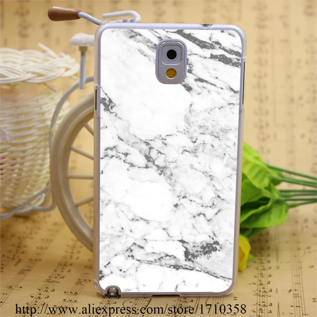 402571B marble Clear Transparent Hard Case Cover Samsung Galaxy A3 A5 A7 A8 Note 2 3 4 5 Series  -  BEST phone case store store