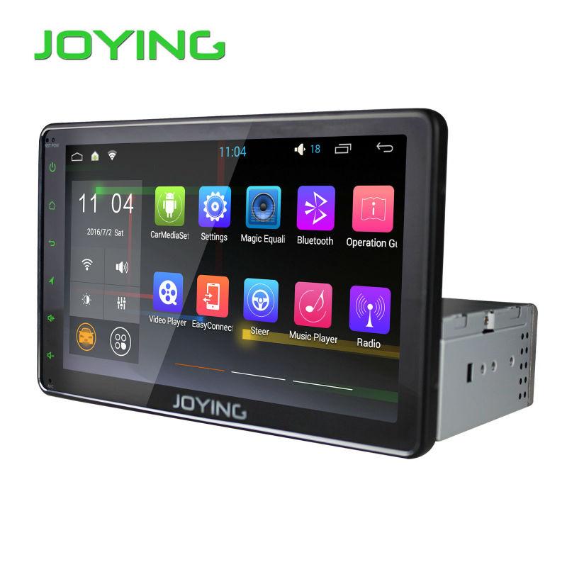 "8"" Inch Full Touch Screen Android Single 1 Din Car Stereo Autoradio Audio Radio Quad Core Car Head Unit JOYING Navigation System(China (Mainland))"