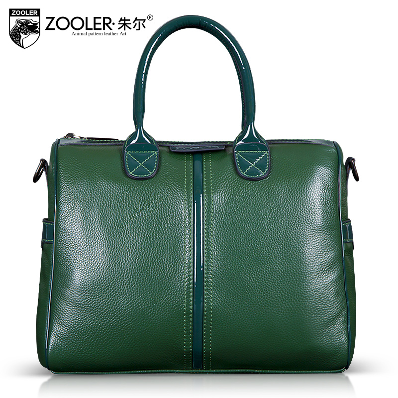 Green genuine leather handbag women 2015 bags cowhide vintage messenger bag female big tote bolsas femininas