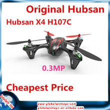 Hubsan X4 H107C 2.4G 4CH RC Quadcopter With 0.3MP Camera RTF Black&Red professional drones Child toys rc drone