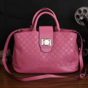 2012 new arrival women's bags fashion solid color women's handbag all-match fashion handbag