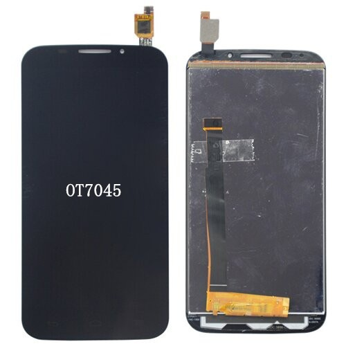 Здесь можно купить  2pcs Glass lcd Screen For Alcatel One Touch POP S7 OT7045 LCD Display touch screen Digitizer assembly  Телефоны и Телекоммуникации