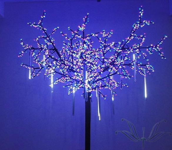 8 Tubes 30cm Meteor Shower Rain Tube Snowfall LED Fairy Lights Decoration christmas Wedding lights lucine kerstverlichting Y405(China (Mainland))