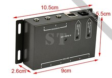 low price Extender 8 Emitters 1 Receiver Infrared Repeater Hidden System Kit(China (Mainland))