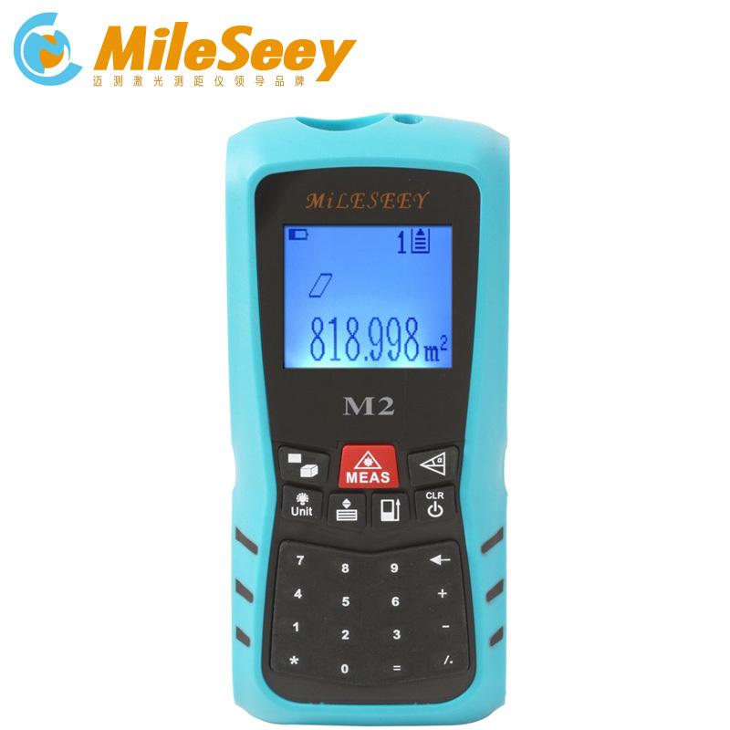 Mileseey M2 Handheld Rangefinder Laser Distance Meter  Digital  Laser Range Finder Laser Tape Measure  60M<br><br>Aliexpress