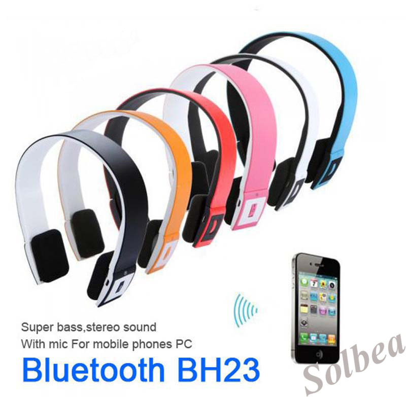1pc Colorful BH-02 2.4G Wireless Bluetooth V3.0 EDR stereo Headset Headphone with Mic for iPhone mp3 mp4 Tablet PC Freetrack<br><br>Aliexpress