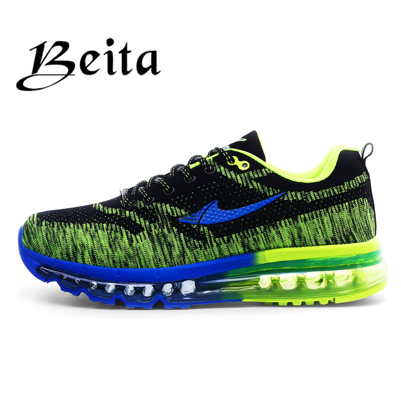 2016 brand beita running shoes breathable lace-up Men athletic shoes mesh upper sport shoes brand men shoes(China (Mainland))