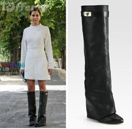 2016 Women Snow Boots Hair Shoes Half Boots Cow Split Roman Boots Oxfords Shoes Flats Heel Winter Boots Shoes Wholesale