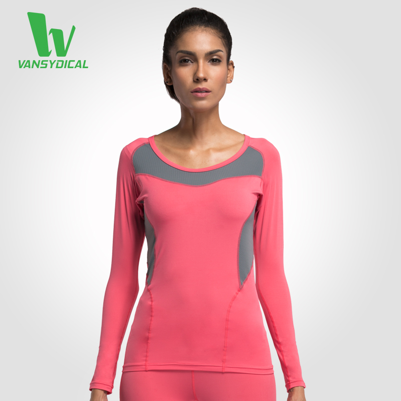 Buy 2016 women 39 s compression shirts long Yoga shirts with sleeves