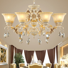 2015 New Arrival Hot Luxurious European Style Chandelier 8 Arms Diameter 95cm Living Room Luxury Lamp Lustres De Chandeliers(China (Mainland))