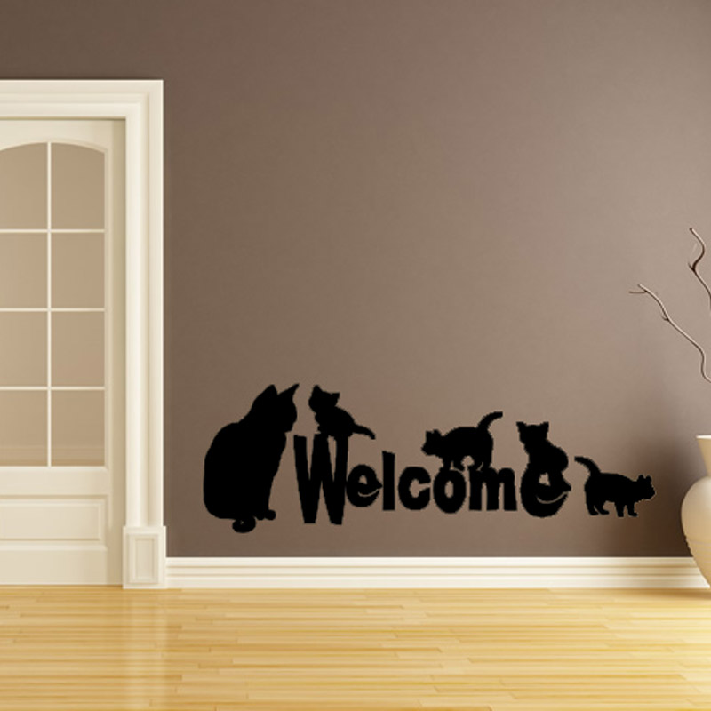 Online get cheap silhouette portrait vinyl for Cheap wall mural decals