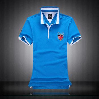 New 2016 Men's Brand Polo Shirt Brand Designers Camisetas Polos Men Pique Short Sleeve Shirt Sports Jerseys Golf Tennis M-XXL