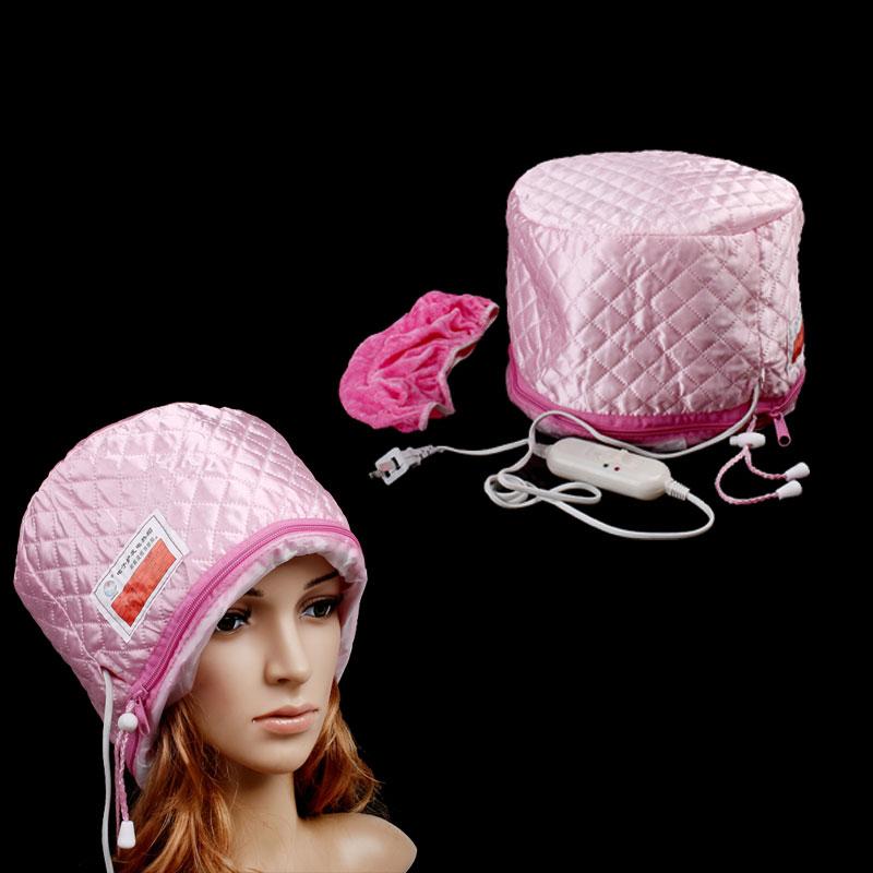 Полотенца для сушки волос, Шапочки, Парикмахерские накидки Hair Steamer Cap 220V H8153