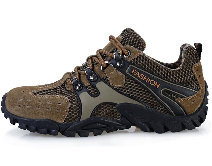Waterproof breathable hiking boots men outdoor sports,3 colors, - Fan Di Long Wan Nian Store store