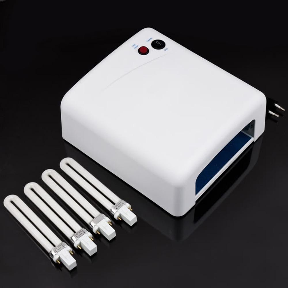 High quality Popular 36W EU Plug Ultraviolet 220V Gel Professional UV Curing Lamp Light Dryer Nail Art Free Shipping(China (Mainland))