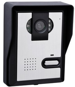 Outdoor parts manufacturers selling hd night vision color visual intercom doorbell Brazil(China (Mainland))